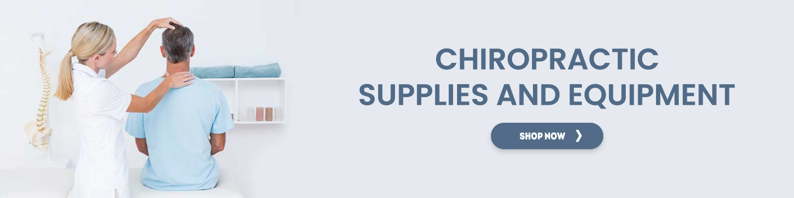 Chiropractic Supplies And Equipments
