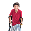Crutches For Kids and Junior Adults (Blue)