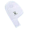 Perma-Type Permettes Two-Piece White Three Ply Semi-Disposable Vinyl Pouch