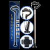 Fully-Adjustable Ergonomic Cane