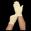 Medline MediGuard Powder-Free Stretch Vinyl Synthetic Exam Gloves