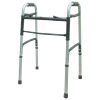 Cardinal Health Two-Button Folding Walker