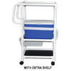 MJM International Hydration Ice Cart with Extra Shelf