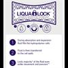 Hydropolymer Adhesive Foam Dressing with LIQUALOCK Technology
