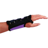 Purple D-Ring Wrist Braces