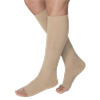 BSN Jobst Large Open Toe Knee High 20-30mmHg Firm Compression Stockings in Petite
