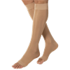 BSN Jobst Medium Open Toe Knee High 30-40mmHg Extra Firm Compression Stockings in Petite