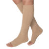 BSN Jobst Large Open Toe Opaque Knee High 15-20 mmHg Moderate Compression Stockings