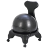 CanDo Plastic Ball Chair with Back