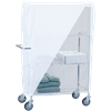 R&B Utility Linen Cart Nylon Cover With Wire Frame