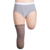 Juzo Dynamic Silver Varin Soft In Prosthetic Below Knee Stump Shrinker with Silicone Border