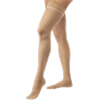 BSN Jobst Ultrasheer Open Toe Thigh-High 30-40mmHg Extra Firm Stockings with Silicone Dot Border