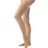 BSN Jobst Ultrasheer Thigh High 15-20 mmHg Compression Stockings with Silicone Lace Border in Petite