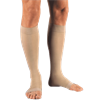 BSN Jobst Relief Open Toe Knee High 30-40mmHg Compression Stockings with Silicone Border