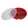 Maddak Eating Partitioned Scoop Dish With Lid