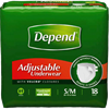 Depend Adjustable Adult Protective Underwear