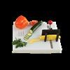 Swedish One-Handed Food Preparation Cutting Board