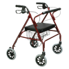 Drive Go-Lite Bariatric Steel Four Wheel Rollator