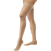 BSN Jobst Ultrasheer Closed Toe Thigh-High 30-40mmHg Compression Stockings With Silicone Dot Band