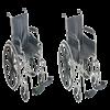Mabis DMI 18 Inch Wheelchair