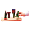Stacking Cones (Wooden Base)