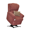 Med-Lift 5400 Wall A Way Recline Lift Chair With Paisley Print Lumbar Pillow