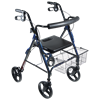 Drive D-Lite Aluminum Rollator With Tool Free Removable Wheels