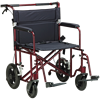Drive Bariatric Heavy Duty Aluminum Transport Chair