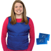 Polar Kool Max Body Cooling Poncho Vest with Cooling Packs