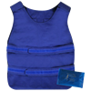 Blue Vest with Cooling Packs