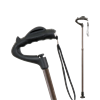 Fully-Adjustable Ergonomic Cane (Brown)