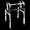 HealthSmart Sit-to-Stand Walker (Silver)