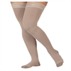 Juzo Silver Soft Thigh High 20-30 mmHg Compression Stockings with Silicone Border