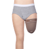 Juzo Dynamic Silver Varin Soft In Prosthetic Above Knee Stump Shrinker with Silicone Border