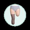 Juzo Dynamic Varin Below Knee Prosthetic Stump Shrinker