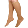Medline Curad Hospital-Quality Closed Toe Knee High 30-40mmHg Medical Compression Socks