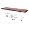 Armedica Hi Lo AM Series 40 Inches One Section Bariatric Treatment Table With Swivel Casters