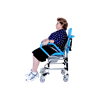 Ergoactives Mobile Commode Chair With Assistive Seat
