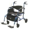 Medline Excel Translator Combination Rollator And Transport Chair