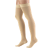 BSN Jobst Relief Thigh High 20-30 mmHg Firm Compression Stockings without Silicone Dot Band