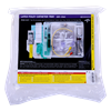 Medline Silicone Elastomer Coated One Layer SimplyLatex Erase Cauti Coude Foley Catheter Tray