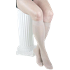 Gabrialla Sheer Knee High 18-20mmHg Medium Graduated Compression Stockings With Band