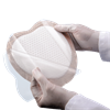 Bordered Foam Wound Dressing with Silicone