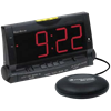 Clarity Wake Assure Alarm Clock with Bed Vibrator
