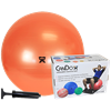 CanDo Inflatable Exercise Ball Economy Set