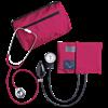 Dual Head Stethoscope Combination Kit (Magenta)