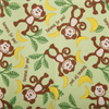 Monkey And Banana Fabric