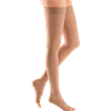 Venosan Open Toe Mid Thigh 30-40mmHg Medical Compression Stockings with Silicone Top