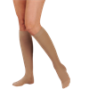 Juzo Dynamic Max Knee High 20-30mmhg Firm Compression Stockings With 3cm Silicone Border