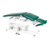 Armedica Hi Lo AM Series Five Section Treatment Table With Elevating Center And Tilt Down Armrest